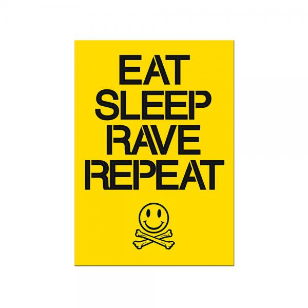 Buy Online Fatboy Slim - Eat Sleep Rave Repeat A3 Poster