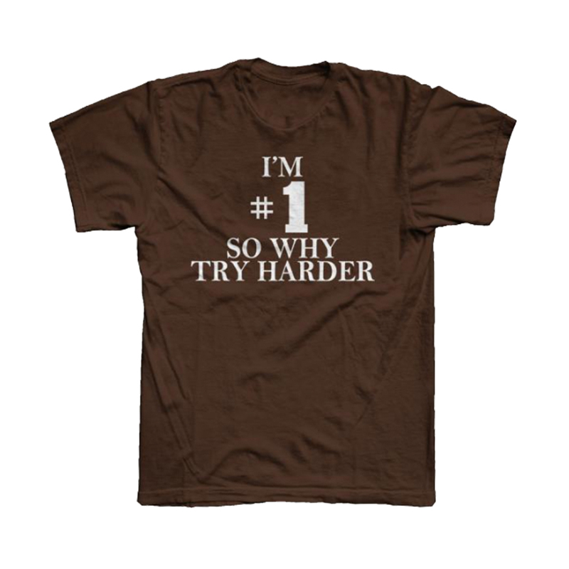 Buy Online Fatboy Slim - #1 Why Try Harder T-Shirt