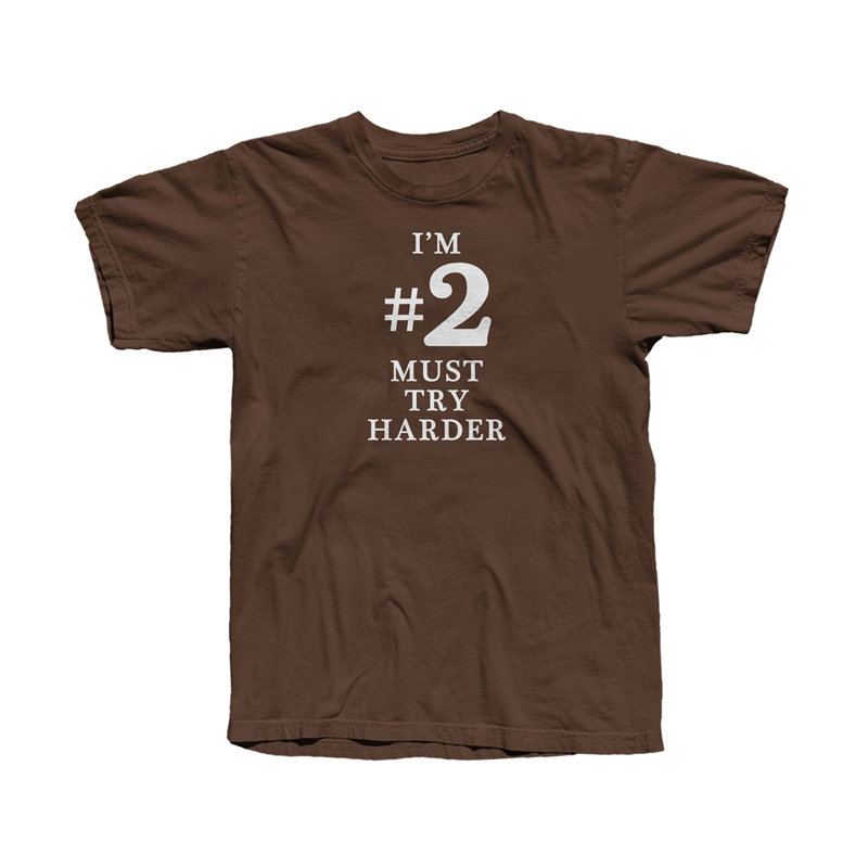 Buy Online Fatboy Slim - #2 Must Try Harder T-Shirt