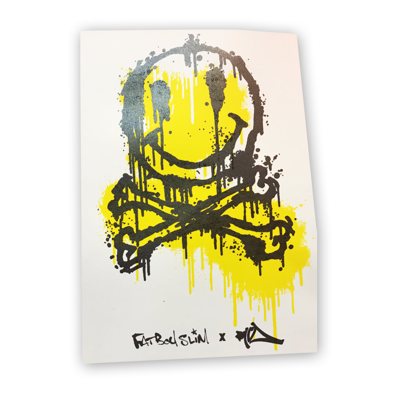 Buy Online Fatboy Slim - Smiley Face Poster
