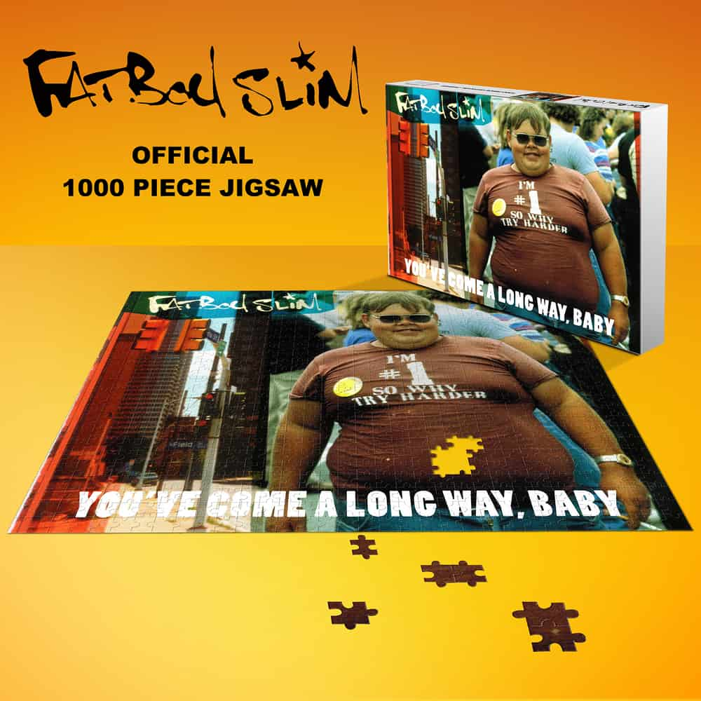 Buy Online Fatboy Slim - You've Come A Long Way, Baby  Jigsaw Puzzle