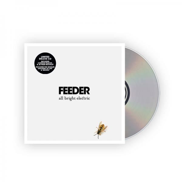 Buy Online Feeder - All Bright Electric Deluxe Book Edition Album