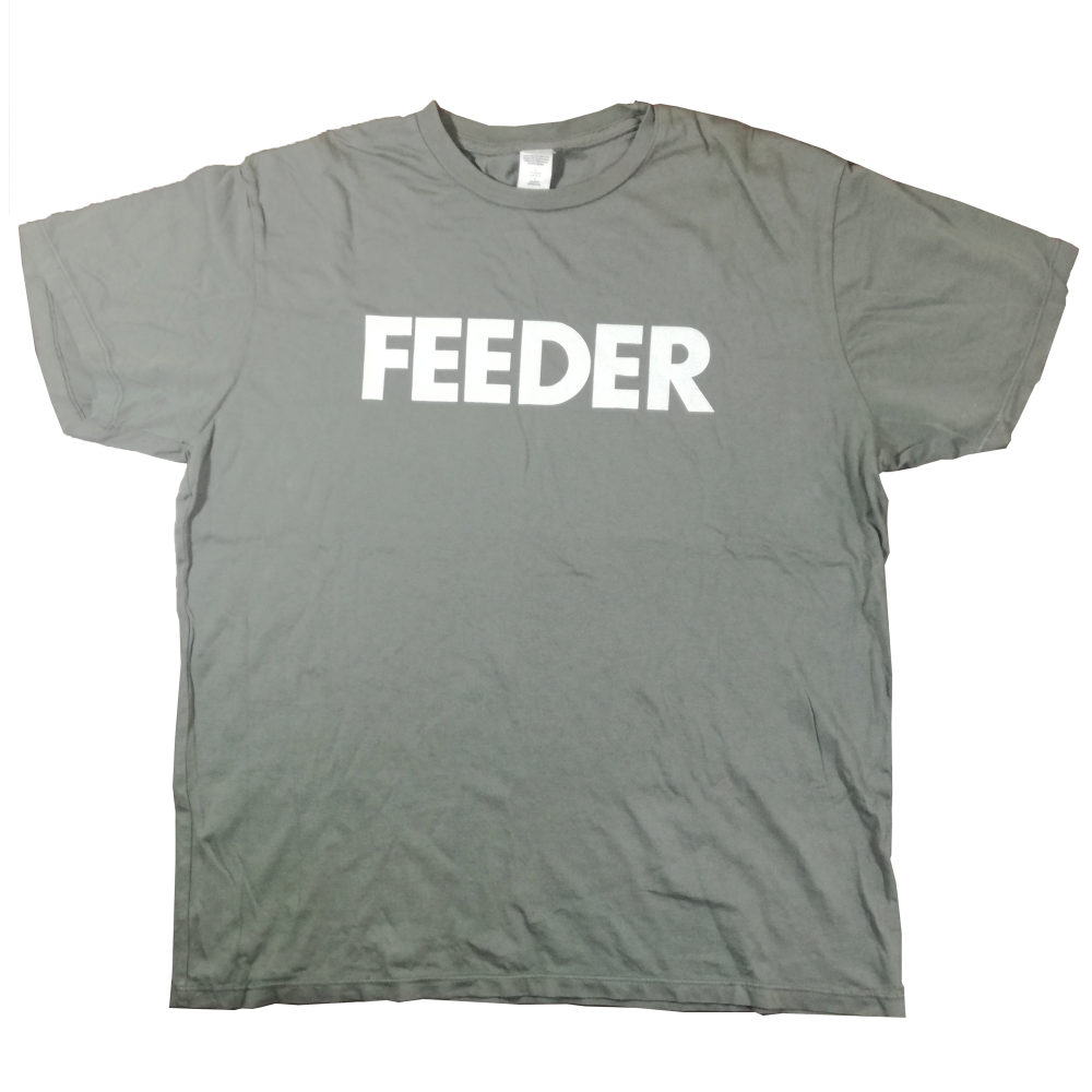 Buy Online Feeder - Logo White Print T-Shirt