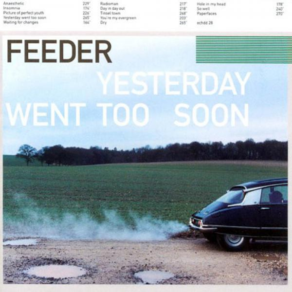 Buy Online Feeder - Yesterday Went Too Soon CD Album