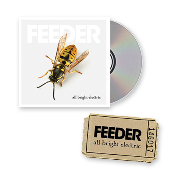 Buy Online Feeder - Ticket + All Bright Electric CD