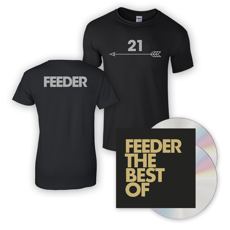 The Best Of 2CD + T-Shirt