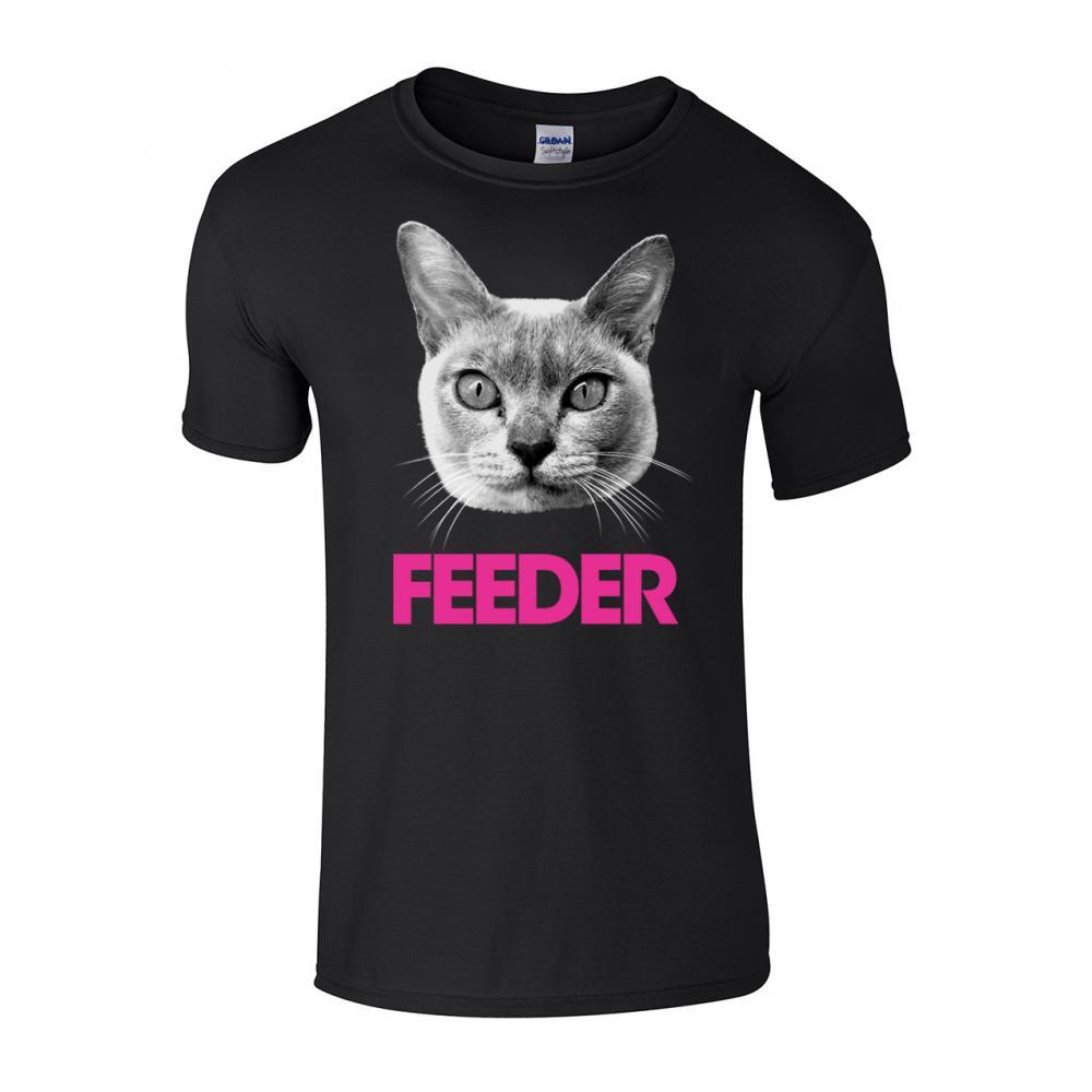 Buy Online Feeder - Pink Cat T-shirt