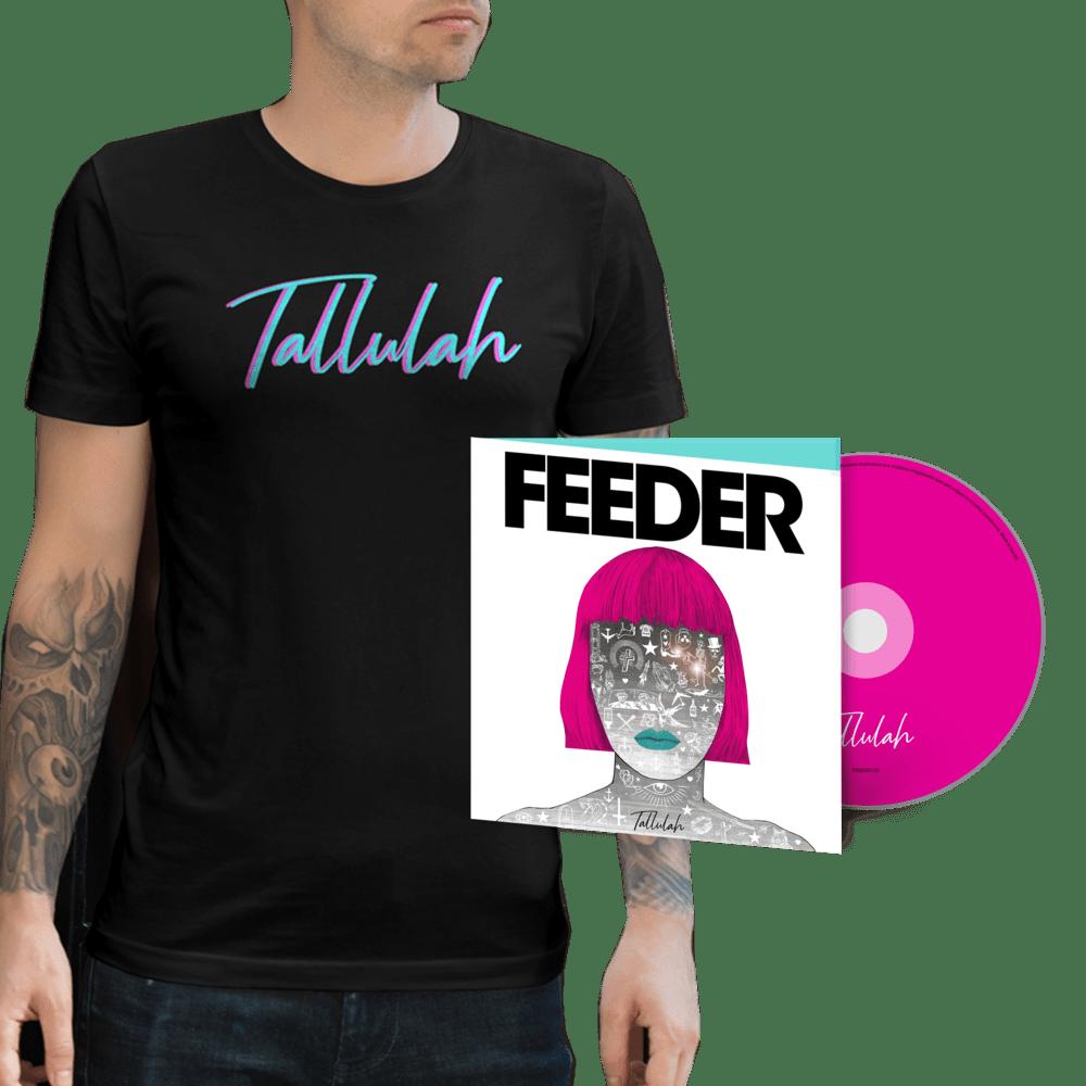 Buy Online Feeder - Tallulah - Deluxe CD (Signed) & T-Shirt