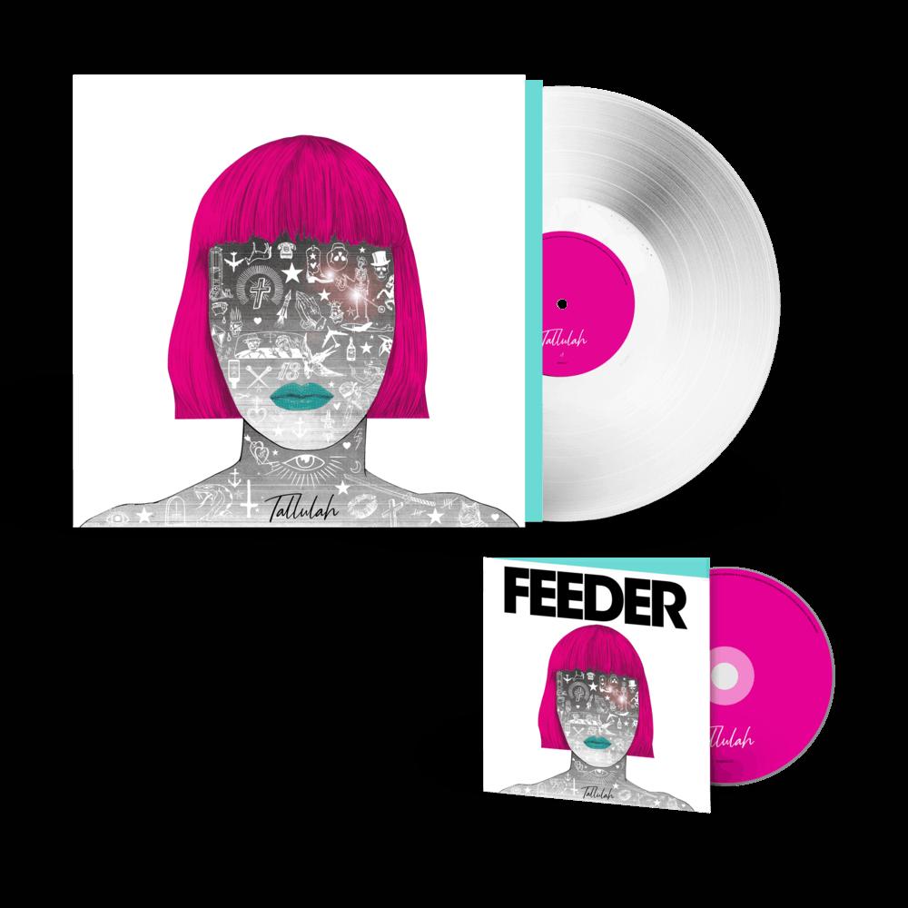 Buy Online Feeder - Tallulah - White Vinyl & Deluxe CD