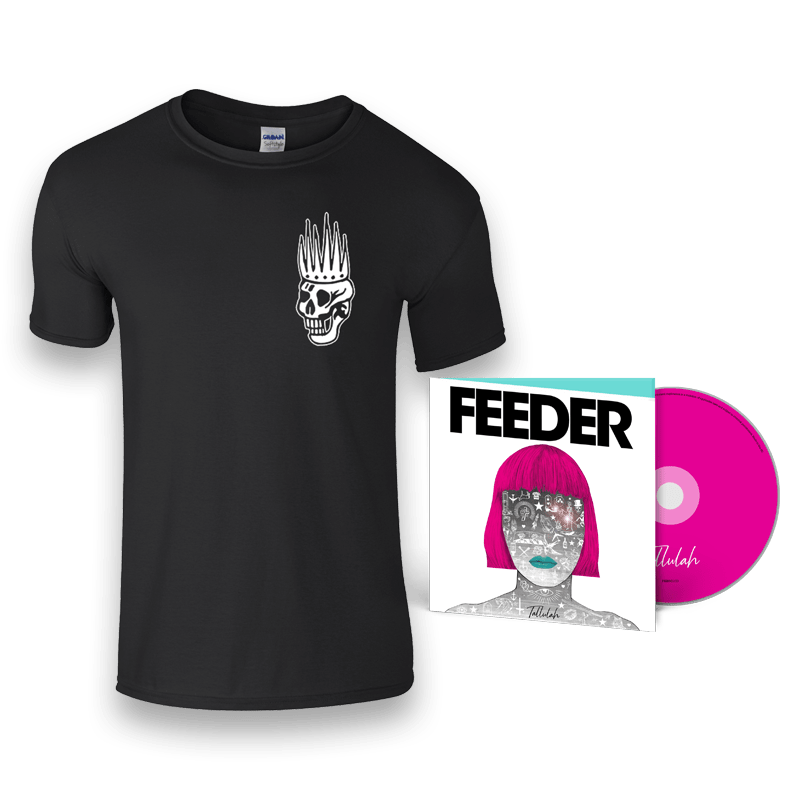 Buy Online Feeder - Tallulah - Deluxe CD & Skull T-Shirt