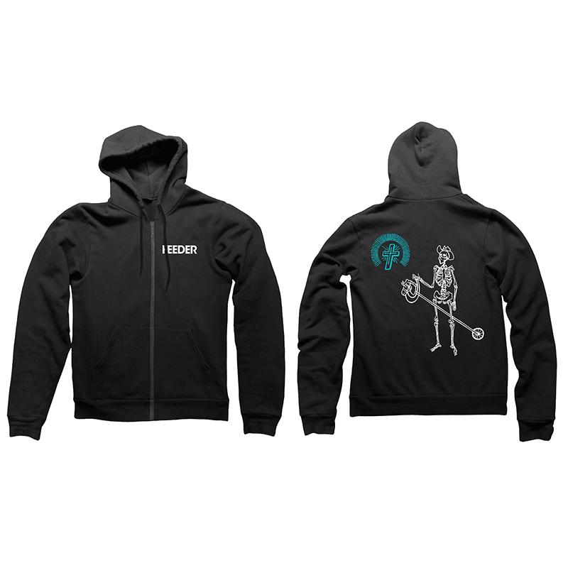 Buy Online Feeder - Logo / Skeleton Hoody