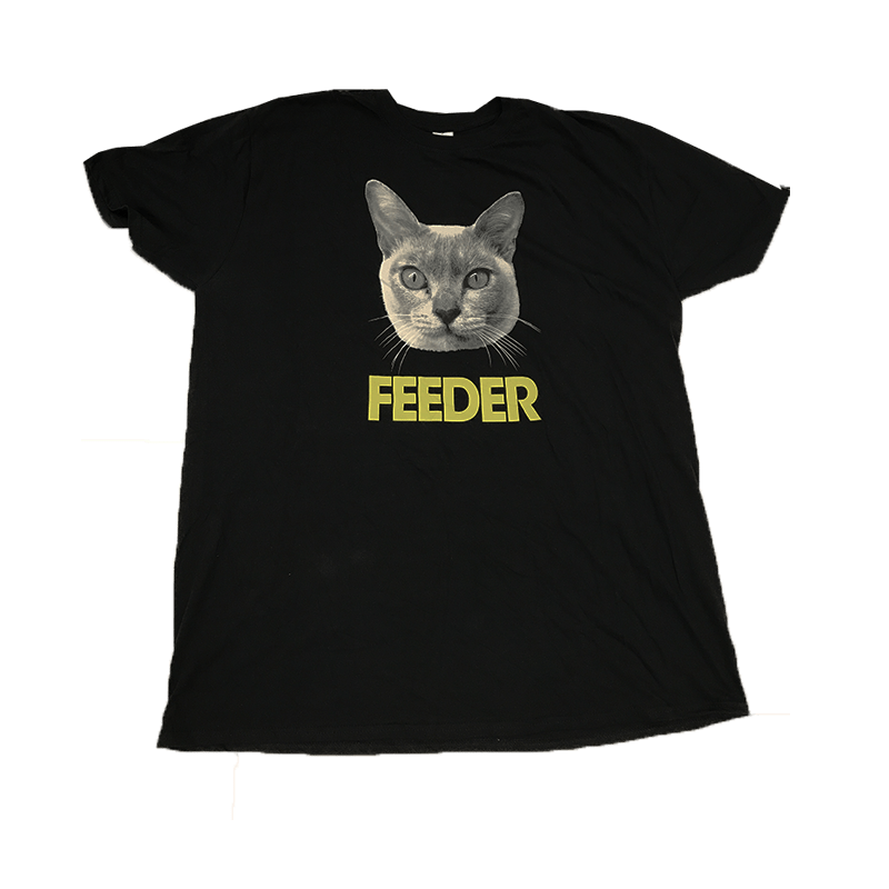 Buy Online Feeder - Gold Cat T-Shirt