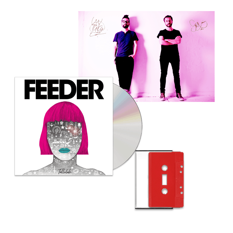 Buy Online Feeder - Tallulah Red Cassette + Standard CD + A6 Photograph