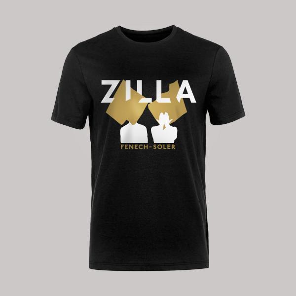 Buy Online Fenech-Soler - Zilla Silhouette Black T-Shirt