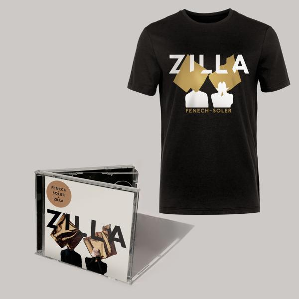 Buy Online Fenech-Soler - Zilla CD Album (Signed) + Silhouette Black T-Shirt
