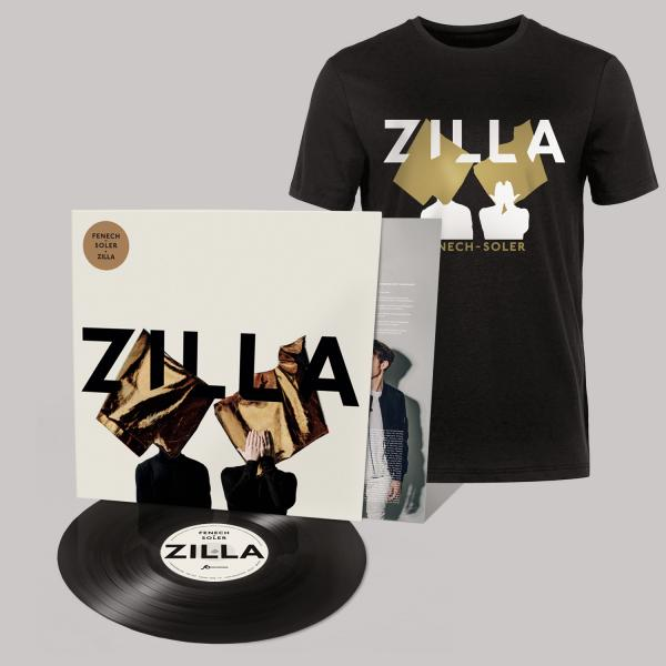 Buy Online Fenech-Soler - Zilla Vinyl LP (Signed) + Silhouette Black T-Shirt