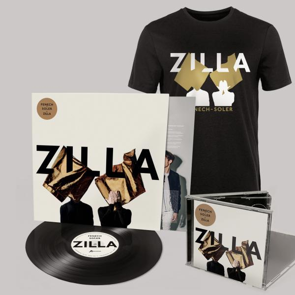 Buy Online Fenech-Soler - Zilla CD (Signed) + Vinyl LP (Signed) + Silhouette Black T-Shirt