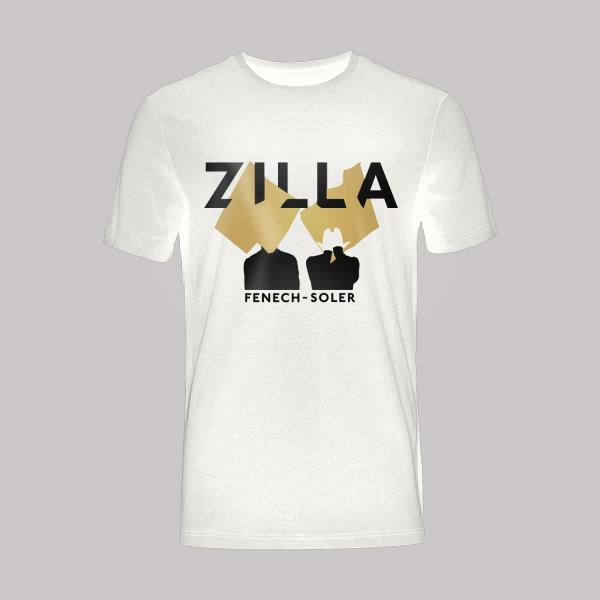 Buy Online Fenech-Soler - Zilla Silhouette White T-Shirt
