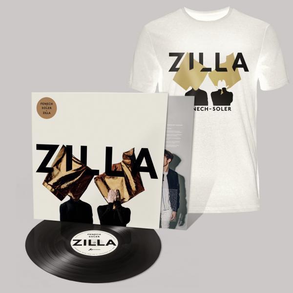 Buy Online Fenech-Soler - Zilla Vinyl LP (Signed) + Silhouette White T-Shirt
