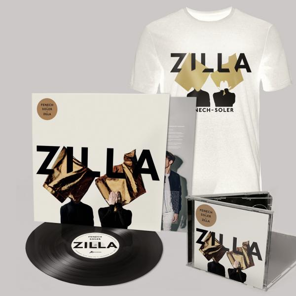 Buy Online Fenech-Soler - Zilla CD (Signed) + Vinyl LP (Signed) + Silhouette White T-Shirt