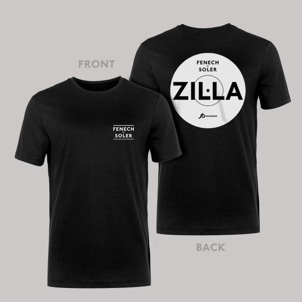 Buy Online Fenech-Soler - Zilla Black Vinyl Style T-Shirt
