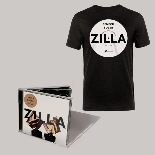 Buy Online Fenech-Soler - Zilla CD Album (Signed) + Black Vinyl Style T-Shirt