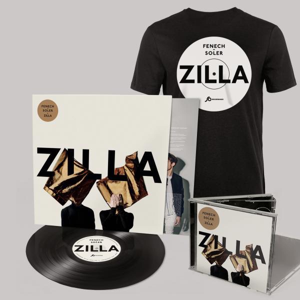 Buy Online Fenech-Soler - Zilla CD (Signed) + Vinyl LP (Signed) + Black Vinyl Style T-Shirt