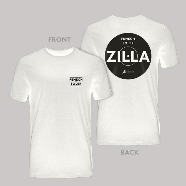 Buy Online Fenech-Soler - Zilla White Vinyl Style T-Shirt