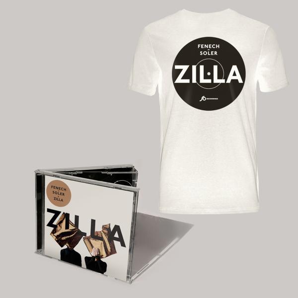 Buy Online Fenech-Soler - Zilla CD Album (Signed) + White Vinyl Style T-Shirt