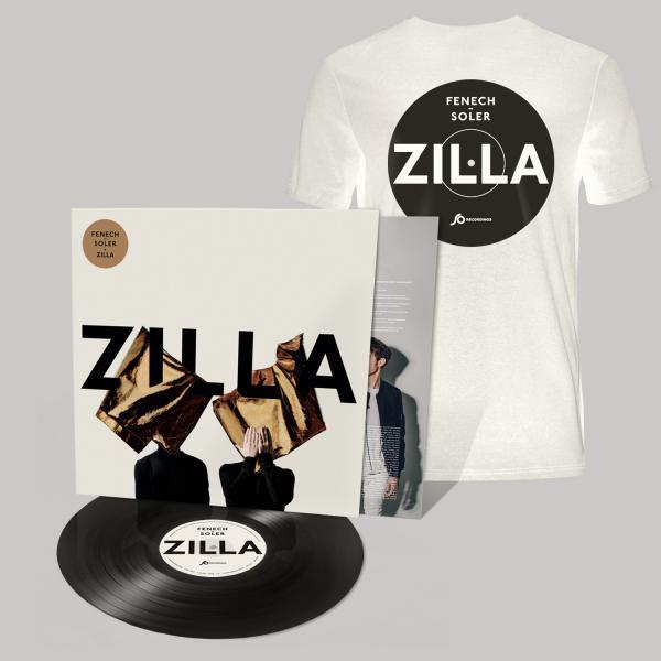 Buy Online Fenech-Soler - Zilla Vinyl LP (Signed) + White Vinyl Style T-Shirt