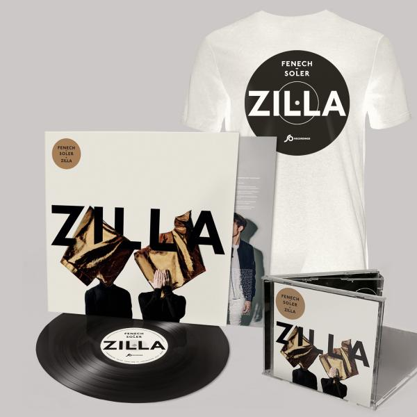 Buy Online Fenech-Soler - Zilla CD (Signed) + Vinyl LP (Signed) + White Vinyl Style T-Shirt