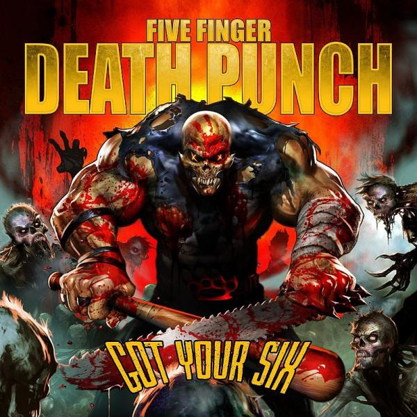 Buy Online Five Finger Death Punch - Got Your Six DigiPak CD Album (First Pressing Only)