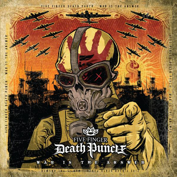 Buy Online Five Finger Death Punch - War Is The Answer Vinyl (Beer Coloured)