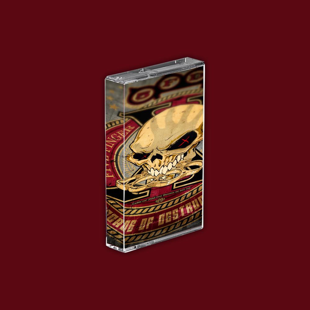 Buy Online Five Finger Death Punch - A Decade Of Destruction Blood Red Cassette