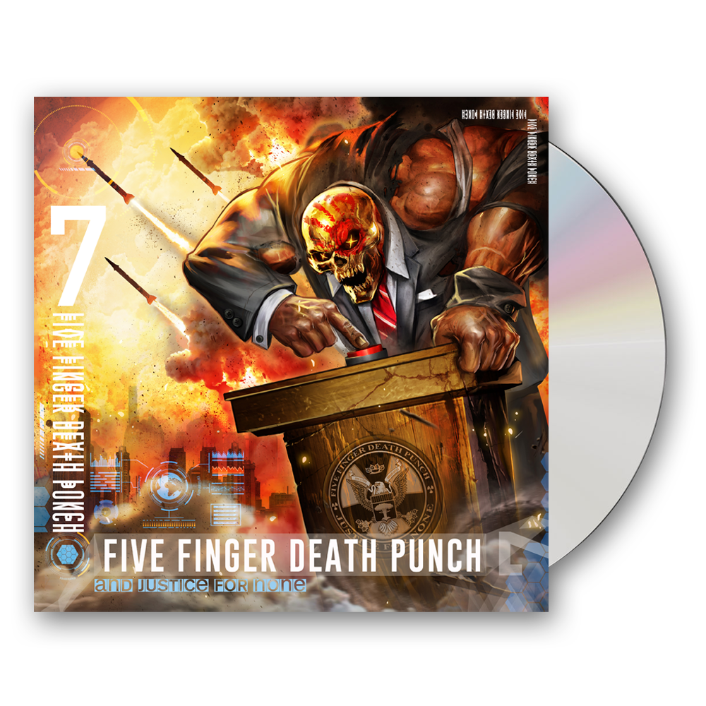 Buy Online Five Finger Death Punch - And Justice For None (Standard Edition)
