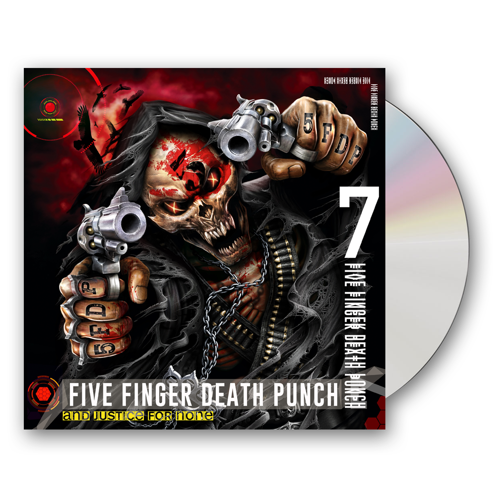 Buy Online Five Finger Death Punch - And Justice For None CD Album (Deluxe Edition)