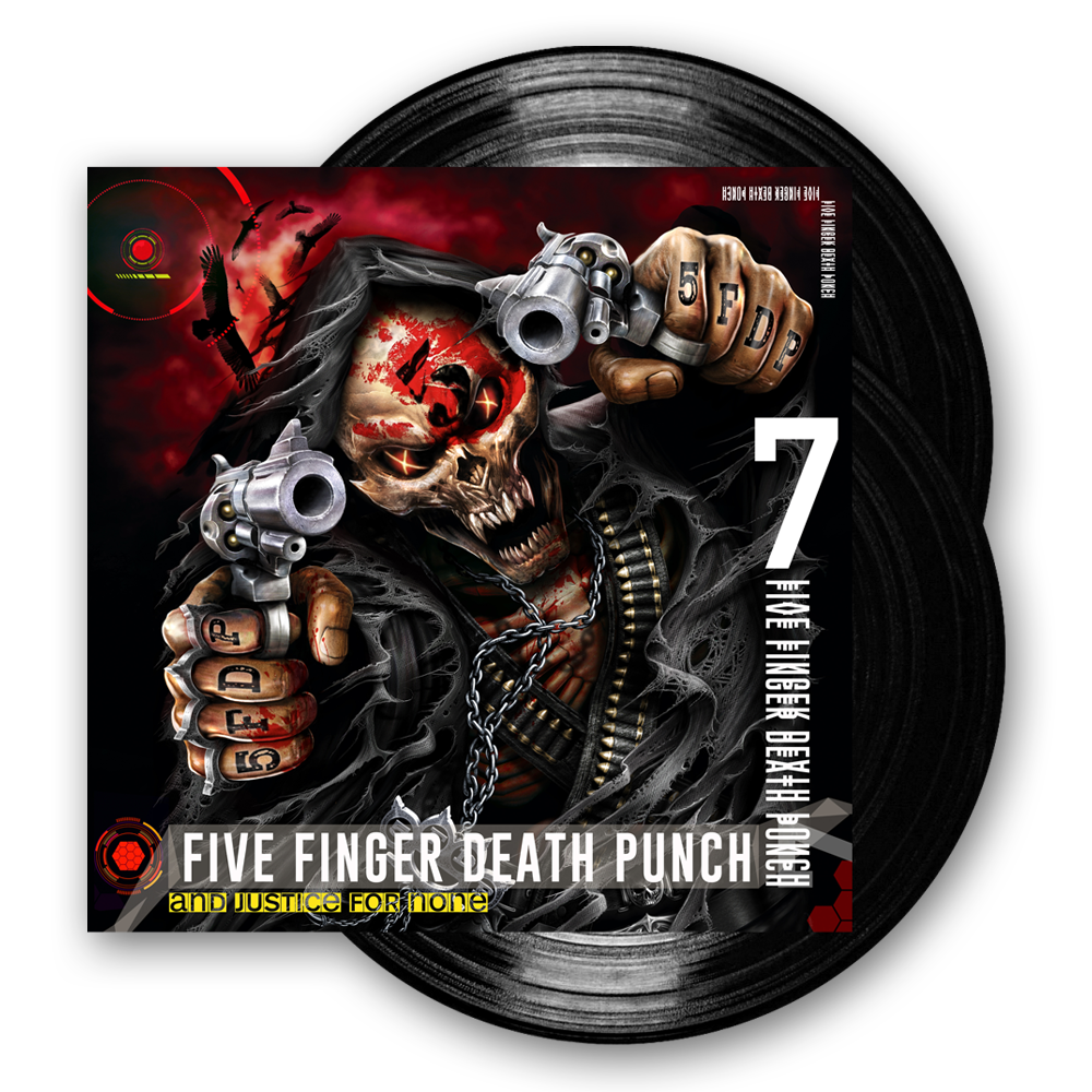 Buy Online Five Finger Death Punch - And Justice For None Vinyl Double LP (Deluxe Edition)