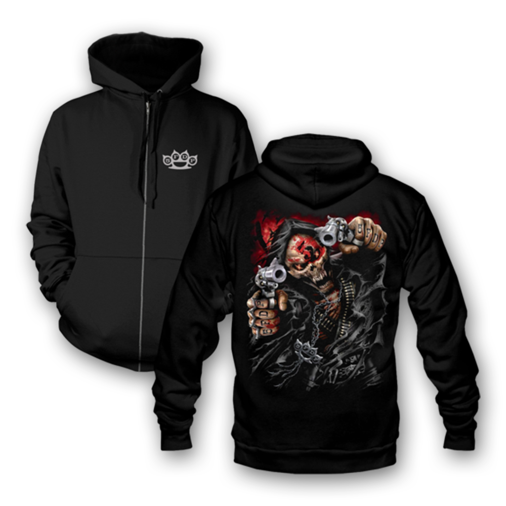 Buy Online Five Finger Death Punch - Assassin Hoodie