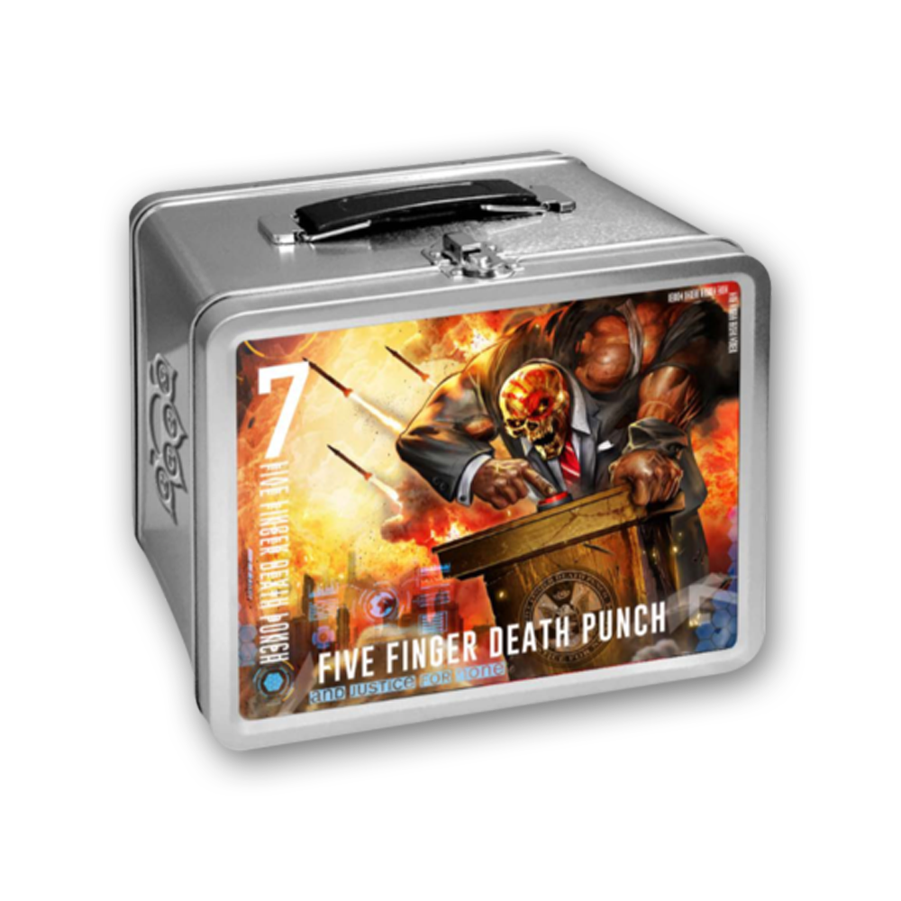 Buy Online Five Finger Death Punch - And Justice For None Lunchbox