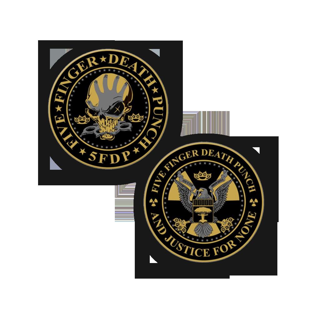 Buy Online Five Finger Death Punch - Challenge Coin