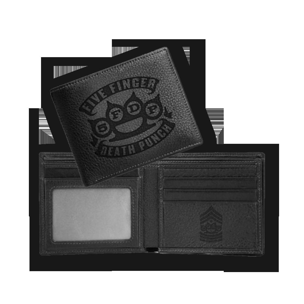 Buy Online Five Finger Death Punch - Brass Knuckle Wallet