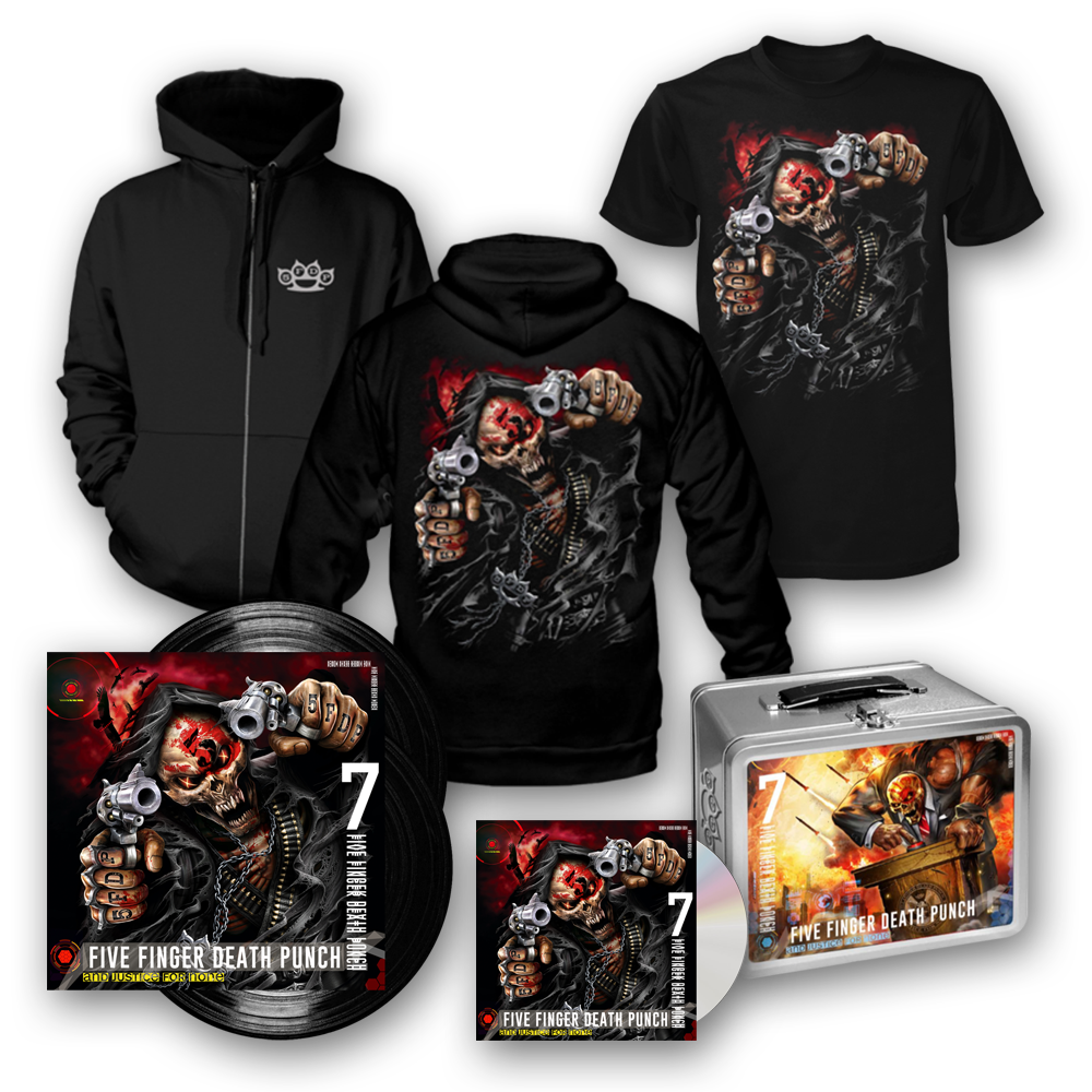 Buy Online Five Finger Death Punch - And Justice For None Deluxe Bundle