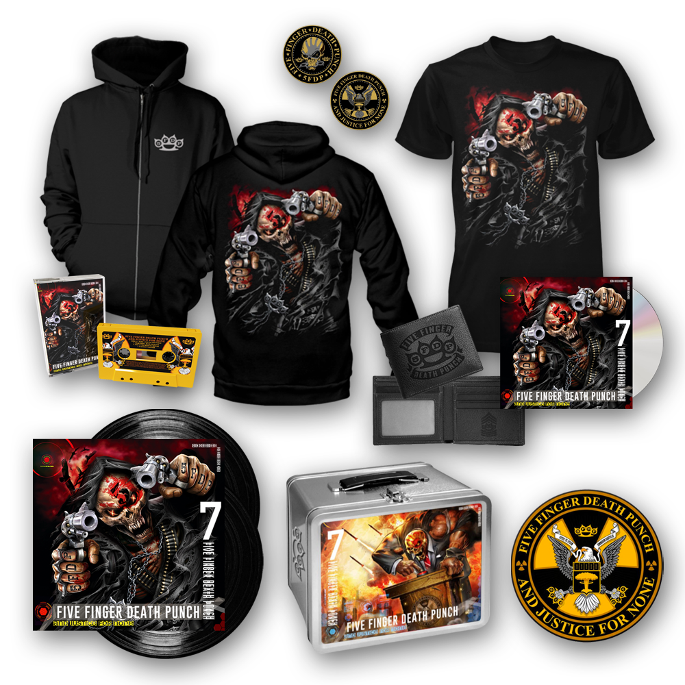 Buy Online Five Finger Death Punch - And Justice For None Super Deluxe Bundle