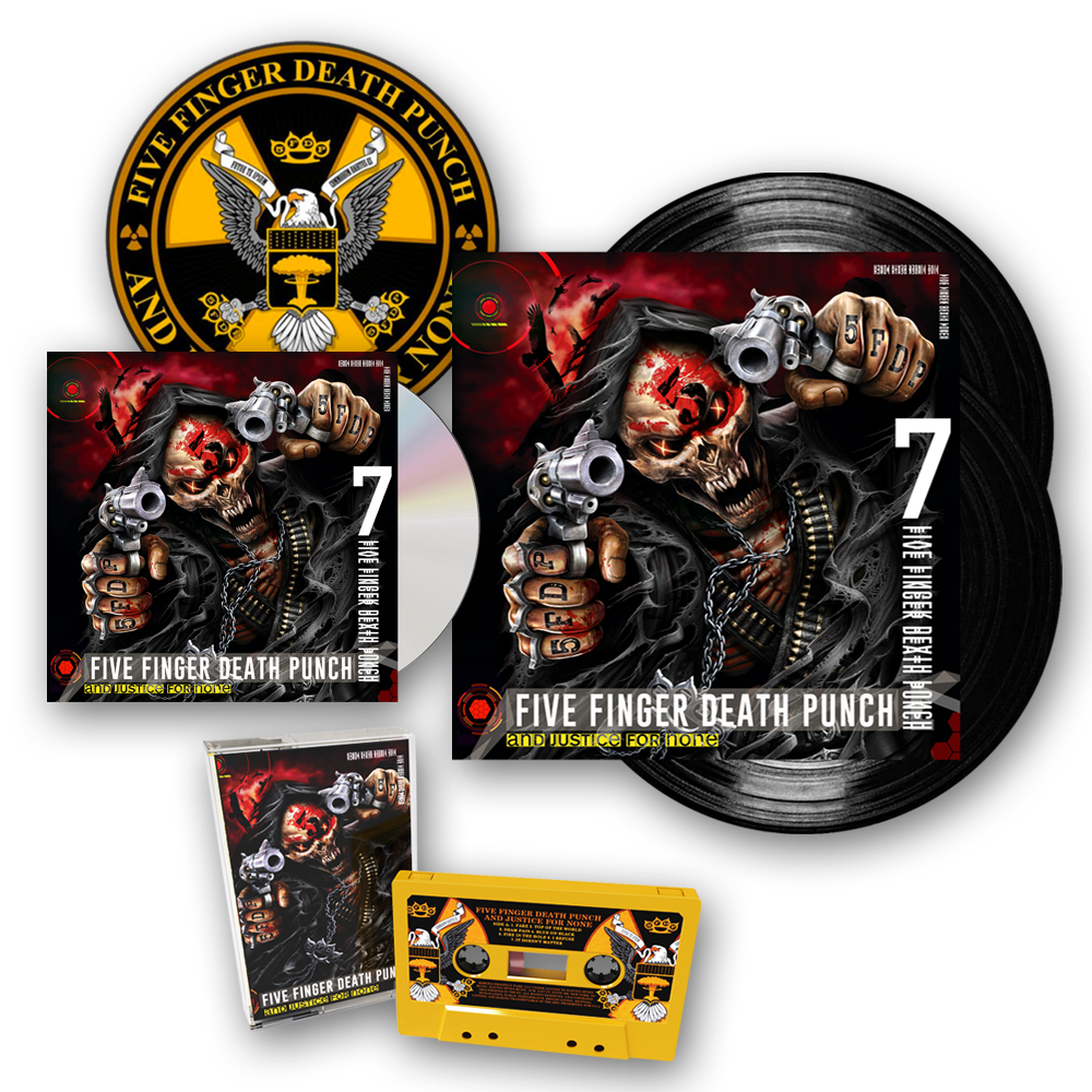 Buy Online Five Finger Death Punch - And Justice For None Deluxe Album Bundle