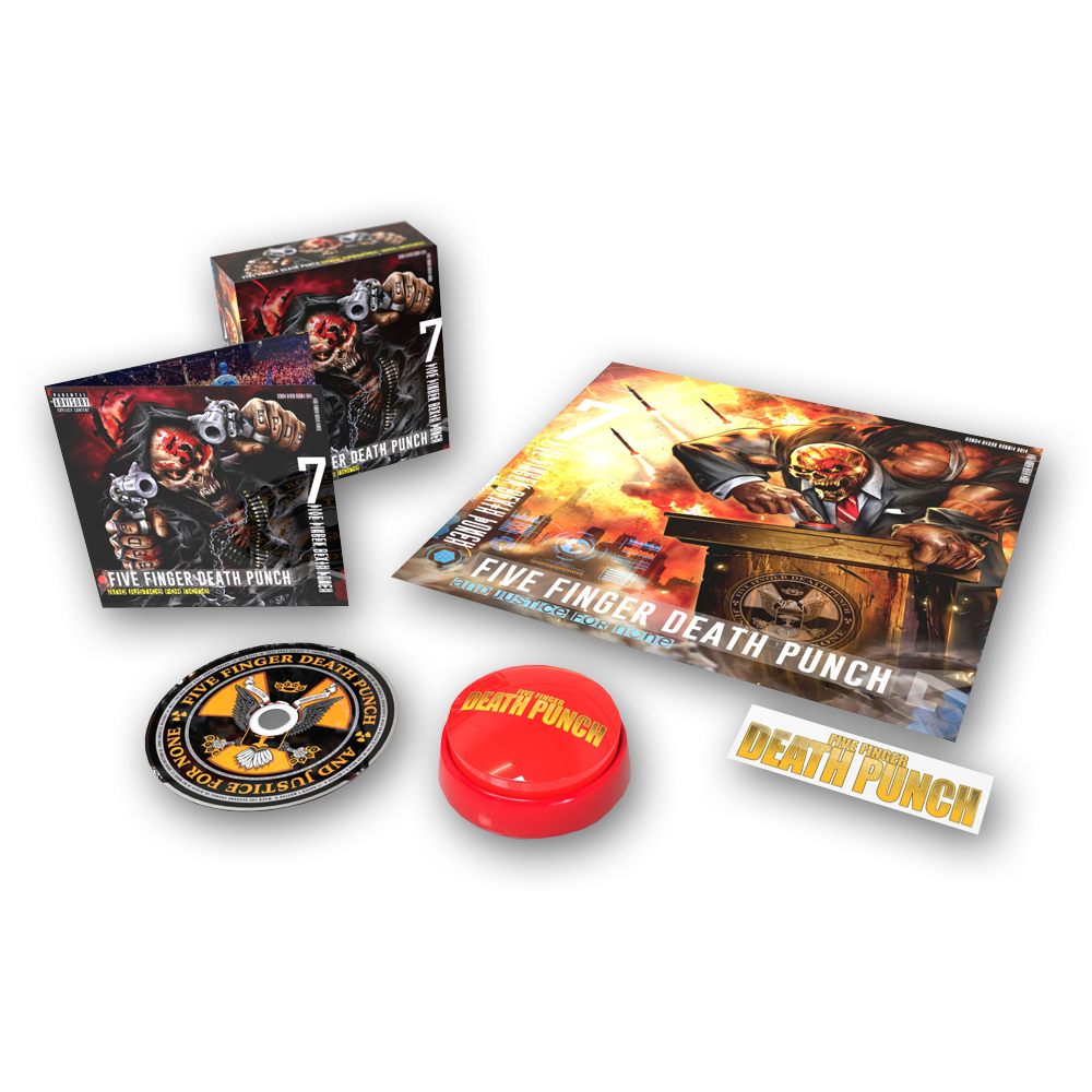 Buy Online Five Finger Death Punch - And Justice For None