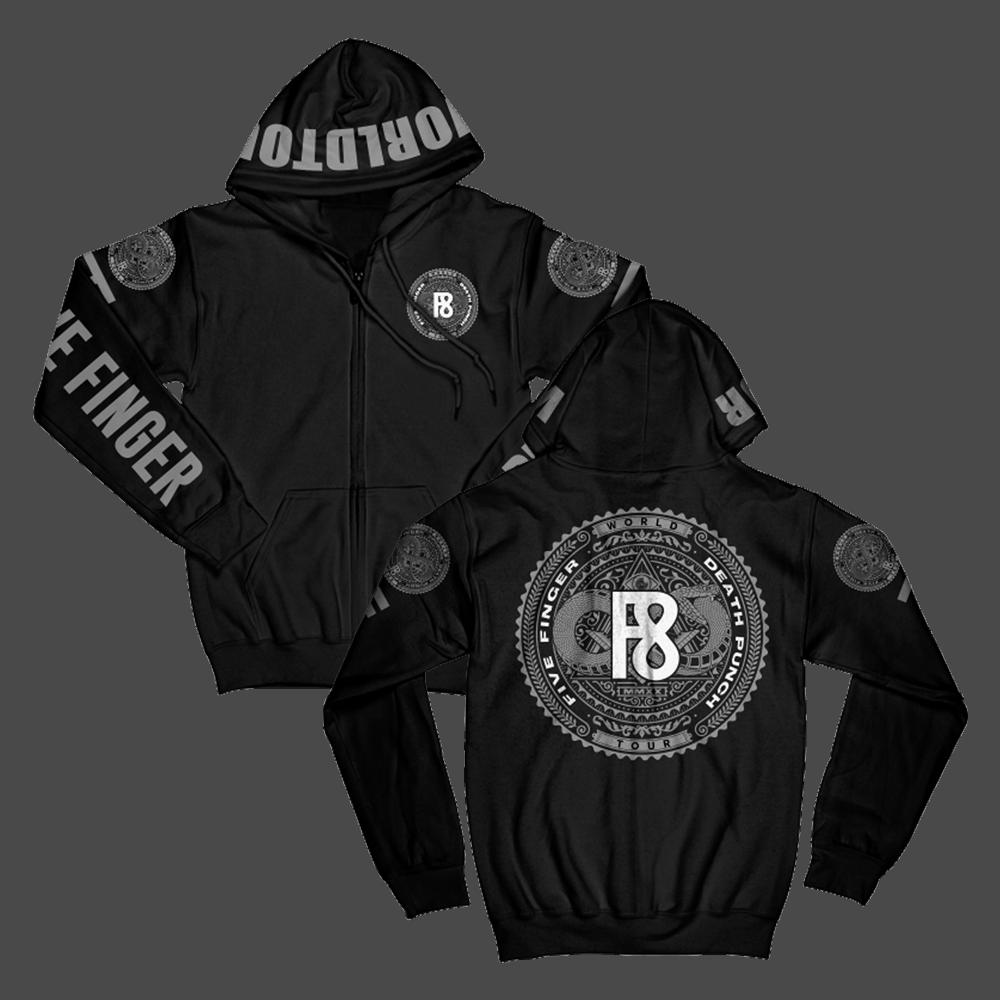 Buy Online Five Finger Death Punch - F8 Hoodie