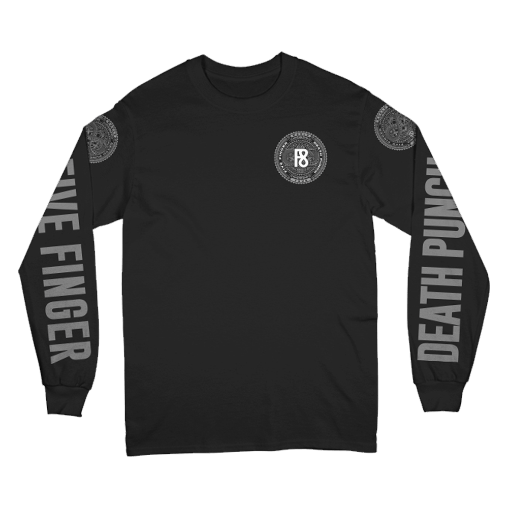 Buy Online Five Finger Death Punch - F8 Long Sleeve T-Shirt