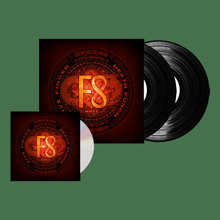 Buy Online Five Finger Death Punch - F8 CD Digipack + Double Vinyl