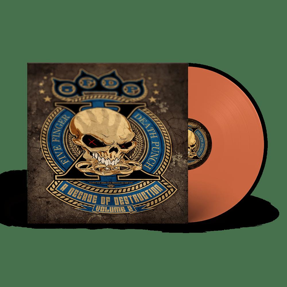 Buy Online Five Finger Death Punch - A Decade Of Destruction Vol II Orange Vinyl 2LP