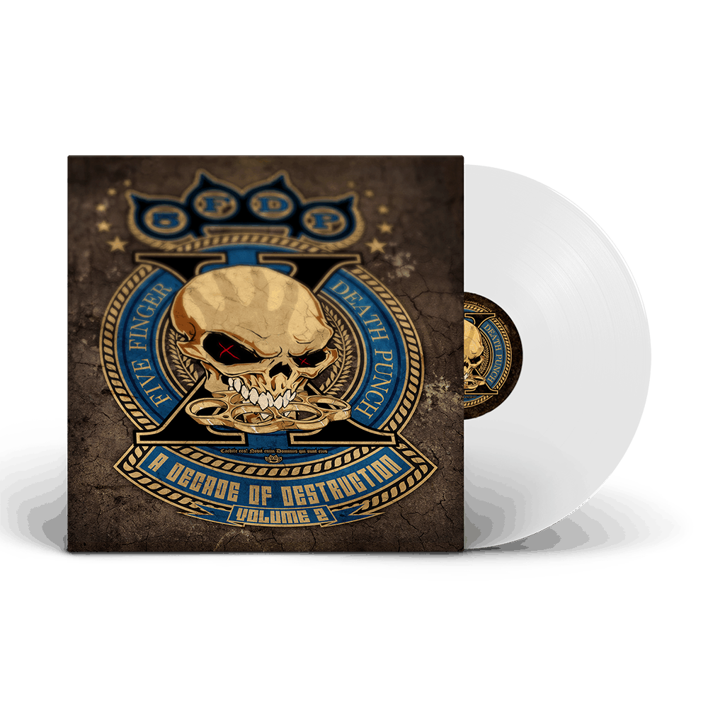 Buy Online Five Finger Death Punch - A Decade Of Destruction Vol II White Vinyl 2LP  (D2C Exclusive)